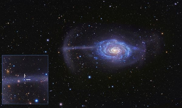 NGC 4651: The Umbrella Galaxy