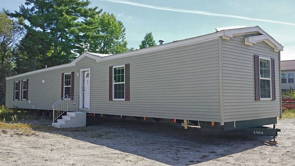 "Mobile modular home in ""old-school"" style."
