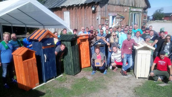 6th annual Summer Conference on Prangli island. Photo: Estonian Woodhouse Association