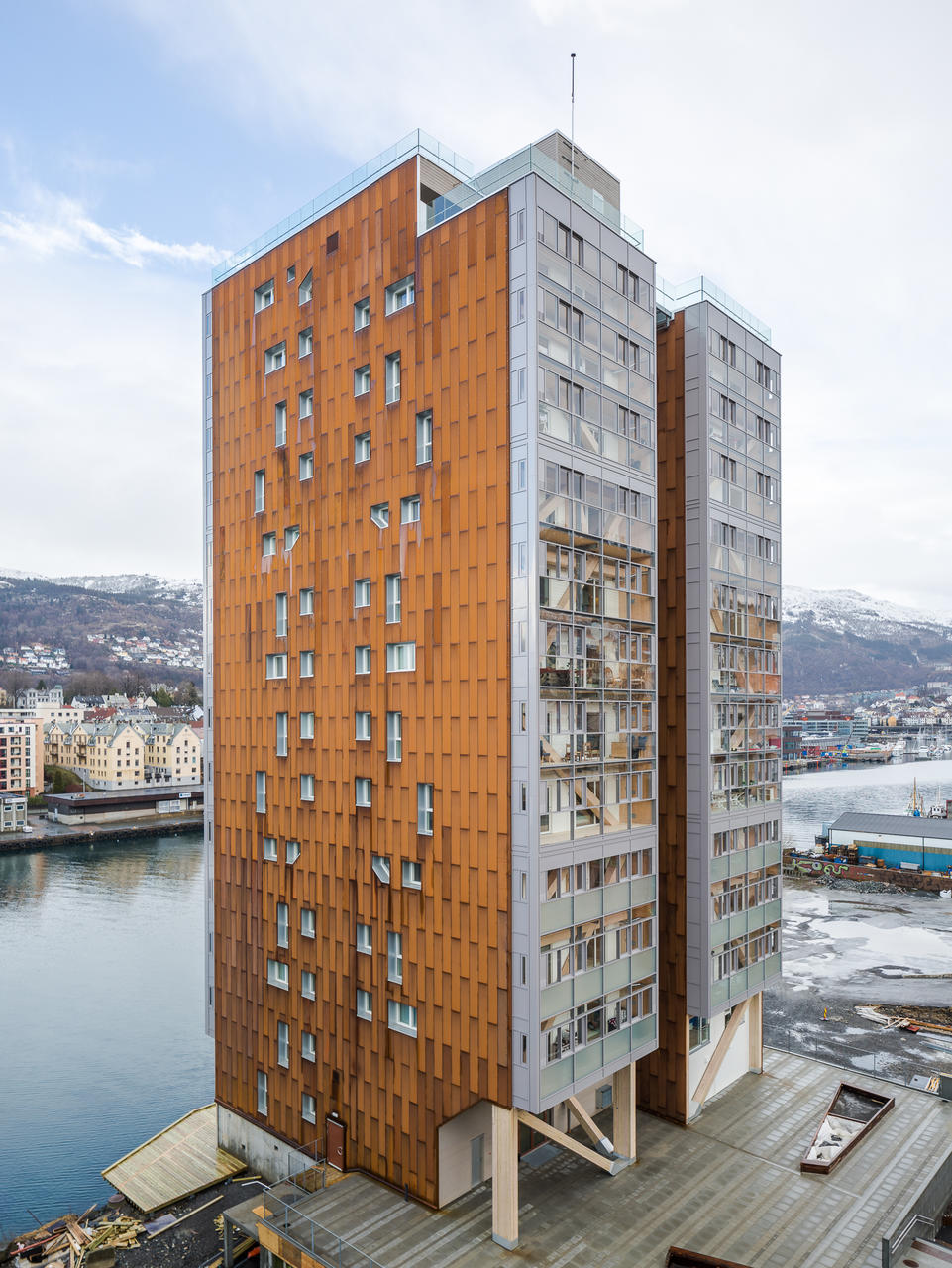 14-storey apartment building in Norway by Kodumaja. Photo: Maris Tomba