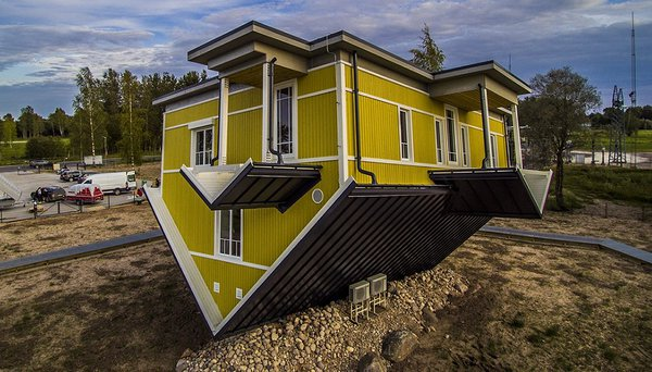 Upside Down House in Tartu. Photo: Q-haus Baltic OÜ