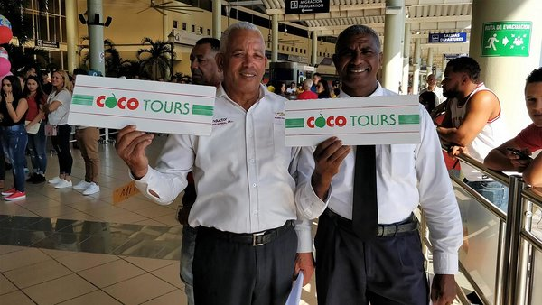 La Romana airport transportation. Our drivers will be there to meet you, holding a Cocotours sign