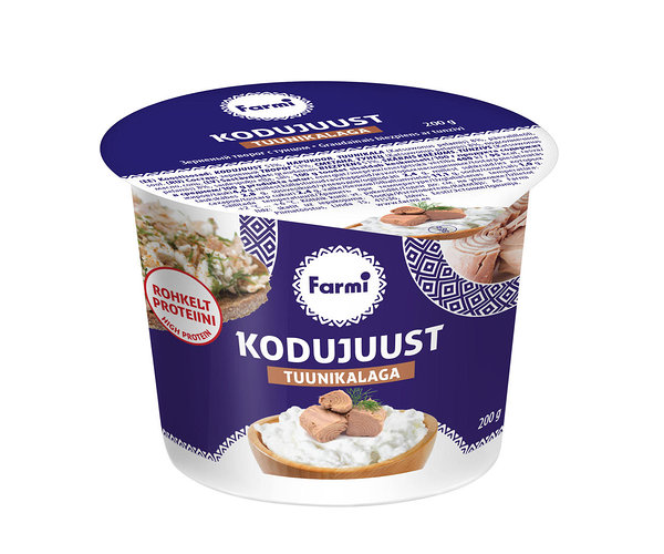 Farmi Cottage cheese with tuna