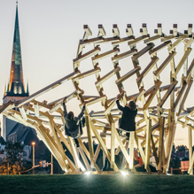 TAB 2015 installation Body Building by Sille Pihlak and Siim Tuksam (photo: Tõnu Tunnel)