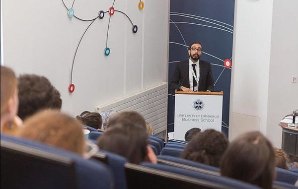 Speaking at University of Edinburg - Business School - 2018