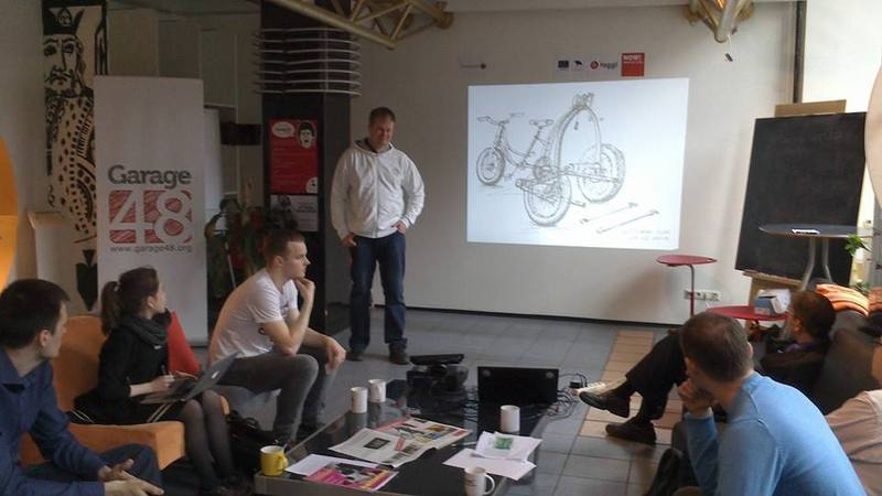 Coffee morning at Garage 48, presentation performed with help of https://www.facebook.com/slidewiper.