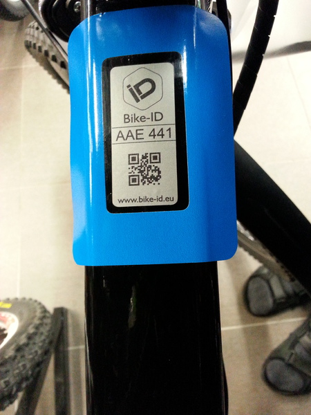 https://www.bike-id.eu/ Every careful bike owner knows why !