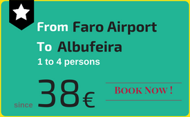 Click to book: Faro Airport - Albufeira