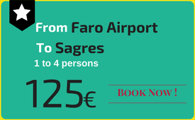 Click to book: Faro Airport - Sagres