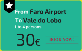 Click to book: Faro Airport - Vale do Lobo