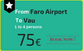 Click to book: Faro Airport - Praia do Vau
