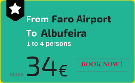 Private transfers Faro Airport to (and from) Albufeira