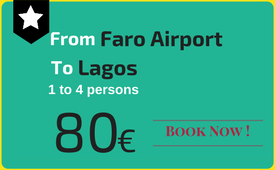 Private transfers Faro Airport to (and from) Lagos
