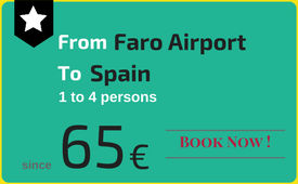 Private transfers Faro Airport to (and from) Spain