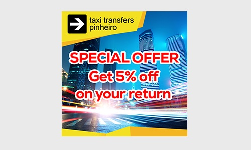special offer, 5% off return journey
