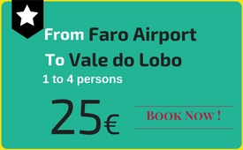 Private transfers Faro Airport to (and from) Vale do Lobo
