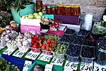 Fresh berries, marinated mushrooms, and more on market for sale - this is summer in Estonia!