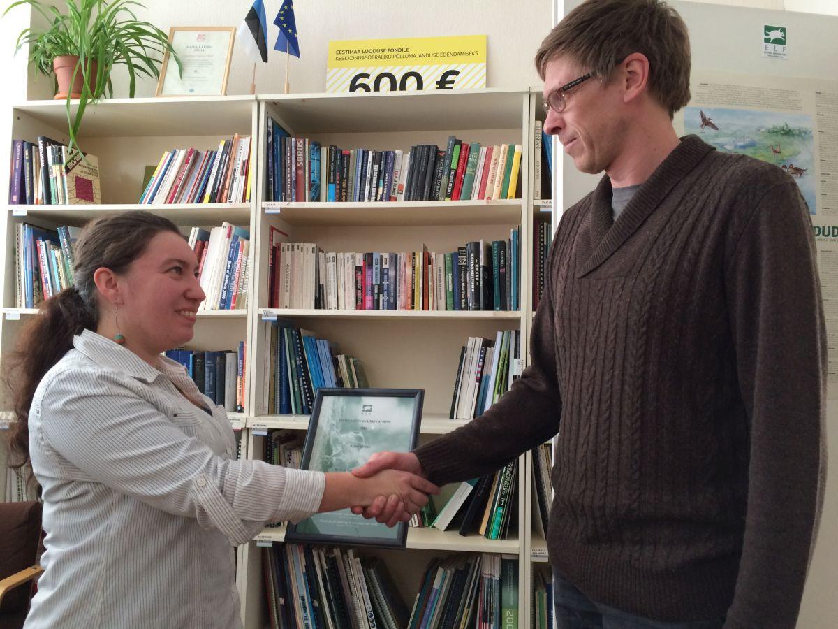 Noore looduskaitsja auhinna pälvis Riho Kinks