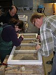 Window restoration workshop