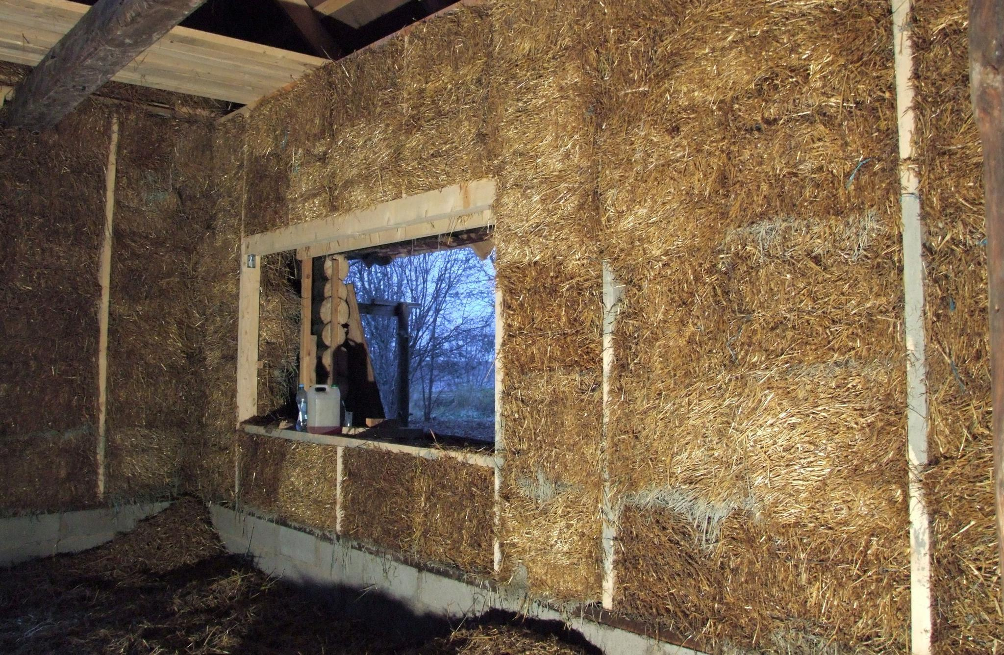 Straw Bale Building S 228 228 Stvad Ehituslahendused