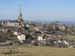The nearby romanesque town of Autun