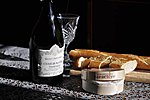 A perfect french lunch in the kitchen