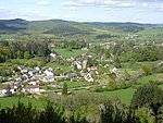 Hills and forests define the south Morvan