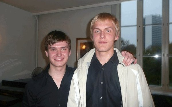 Young Estonian pianists Holger Marjamaa and Joosep Teppo