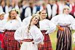 Estonian dance festival. Photo: Aivar Pihelgas.