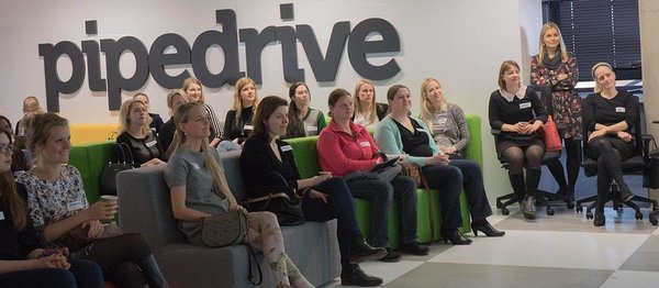 Networking night at Pipedrive hosted by Tech Sisters
