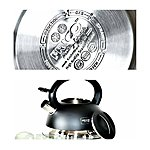 FRICO quality stainless steel kettles whistle. 2,7L, in  different colours, . Price 13.60 EUR