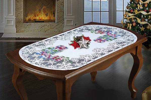 Christmas Gift tablecloth  65*120cm   price 8,65 / pc