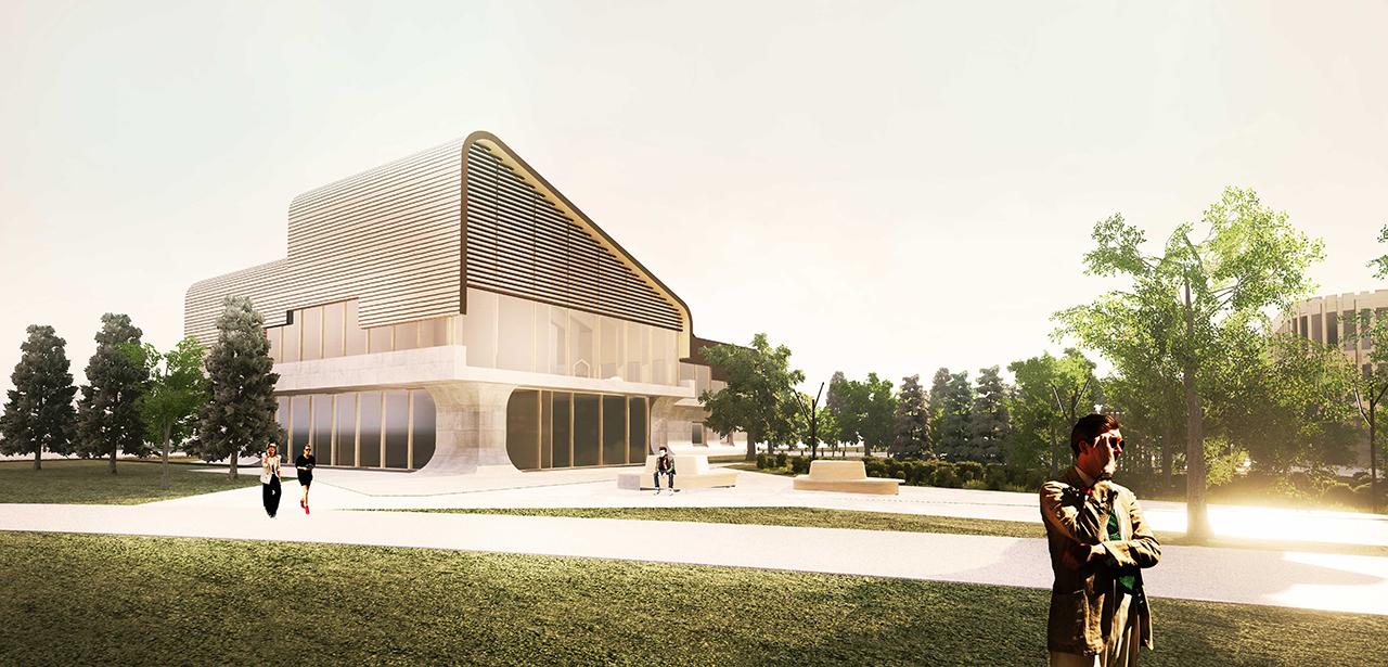 Jüri keskusala ja tervisekeskuse arhitektuurivõistlus, III preemia