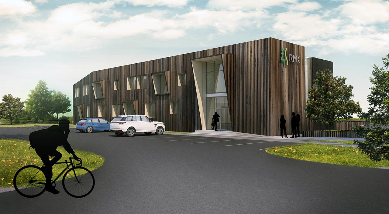 Riigimetsa Majandamise Keskuse (RMK) Tartu büroohoone arhitektuurivõistluse I preemia