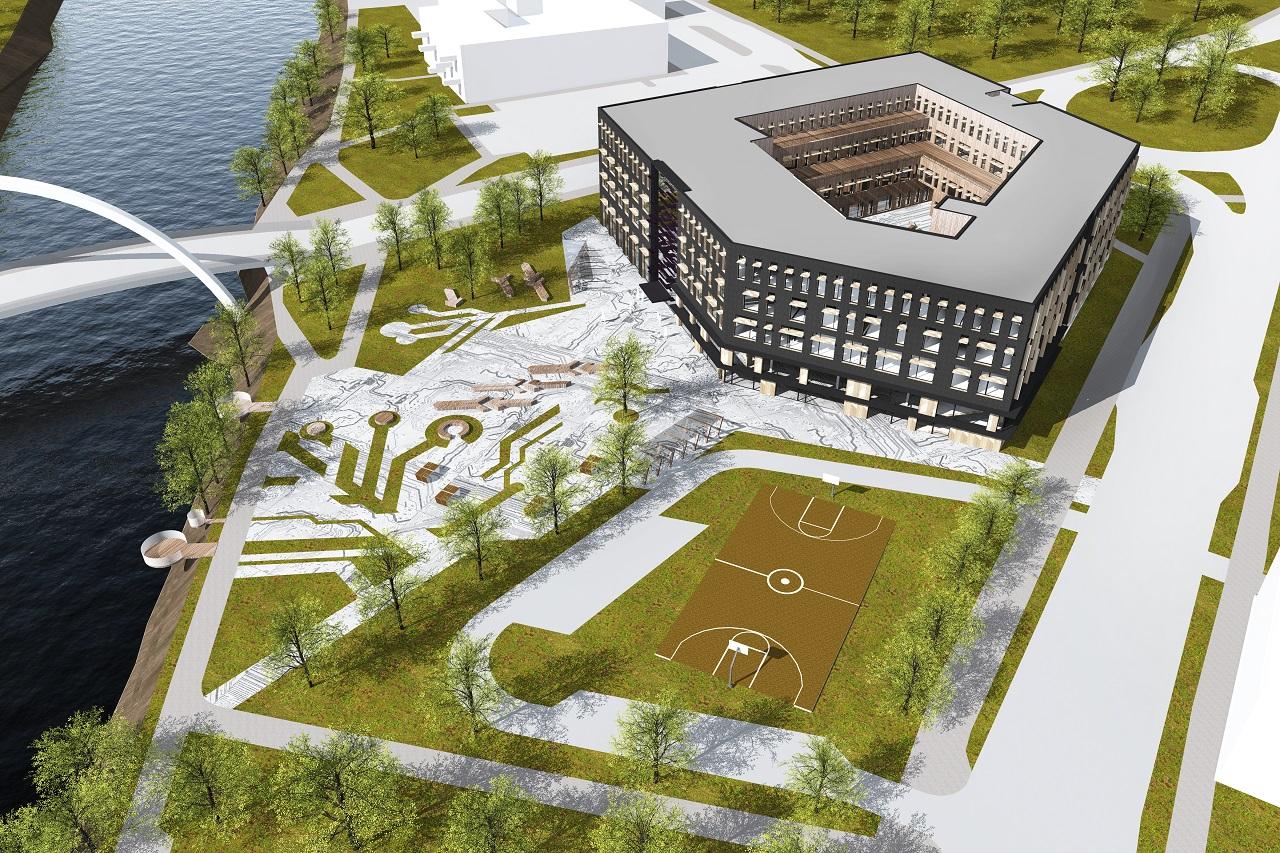 Tartu Ülikooli IT-keskuse arhitektuurivõistlus, II preemia