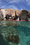 Kayaking in Ensenada Grande