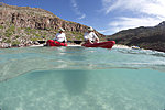 kayaking in Ensenada Grande with El Duque Adventures