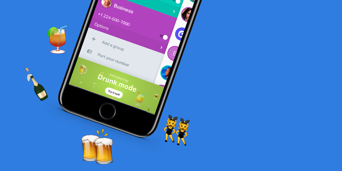 New onoff Feature: Drunk Mode!