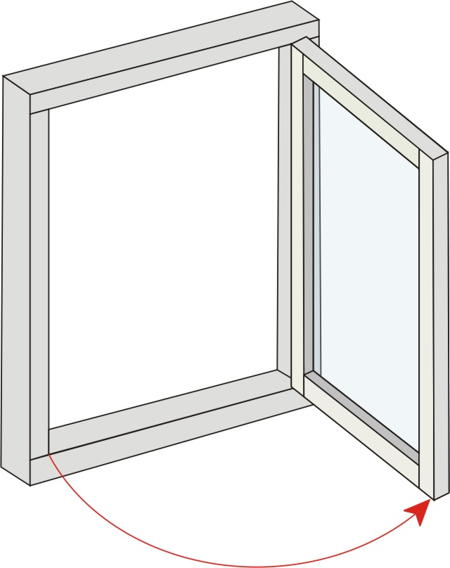 Side Hung. The windows provide a suitable solution for a side hinged opening, the traditional approach to windows.