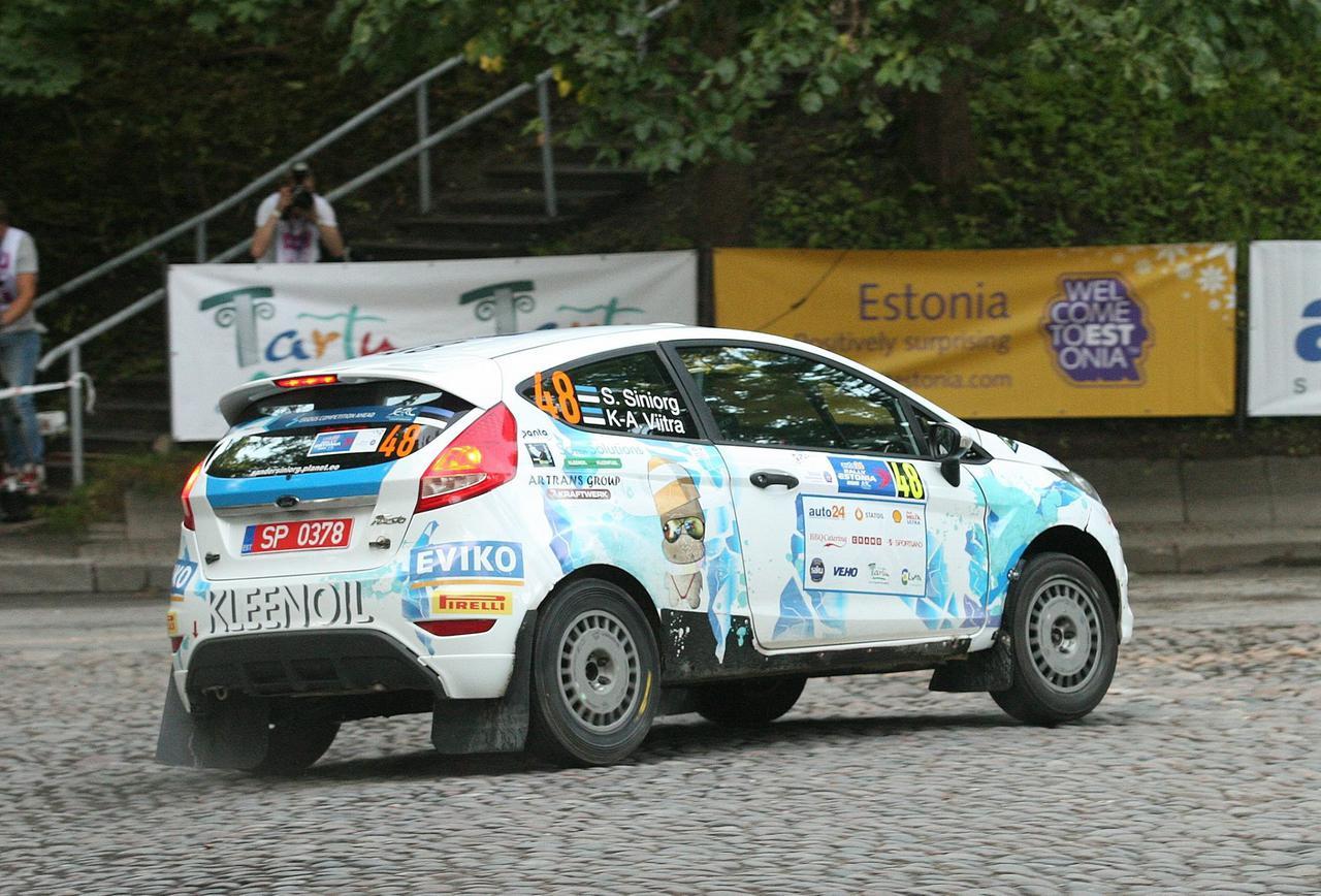 Rally car RENT — Kleenoil