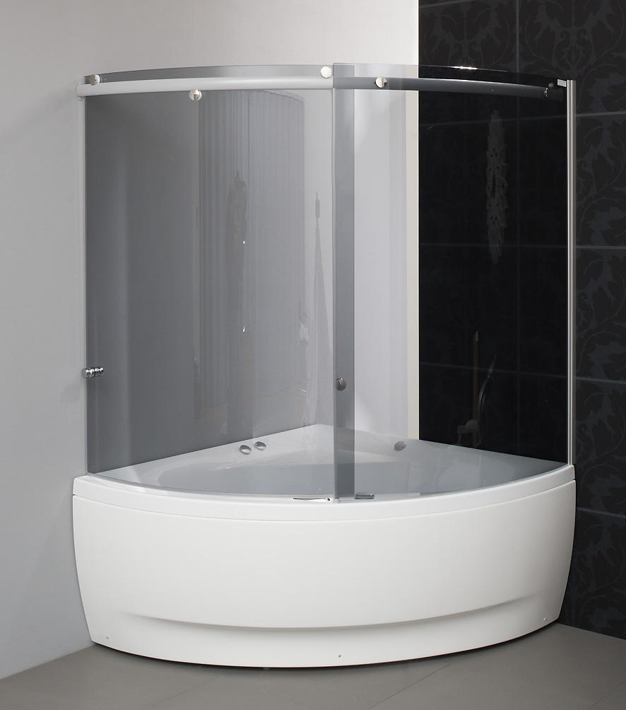 Duschvägg till badkar Linea — Balteco : duschvägg för badkar : Badkar