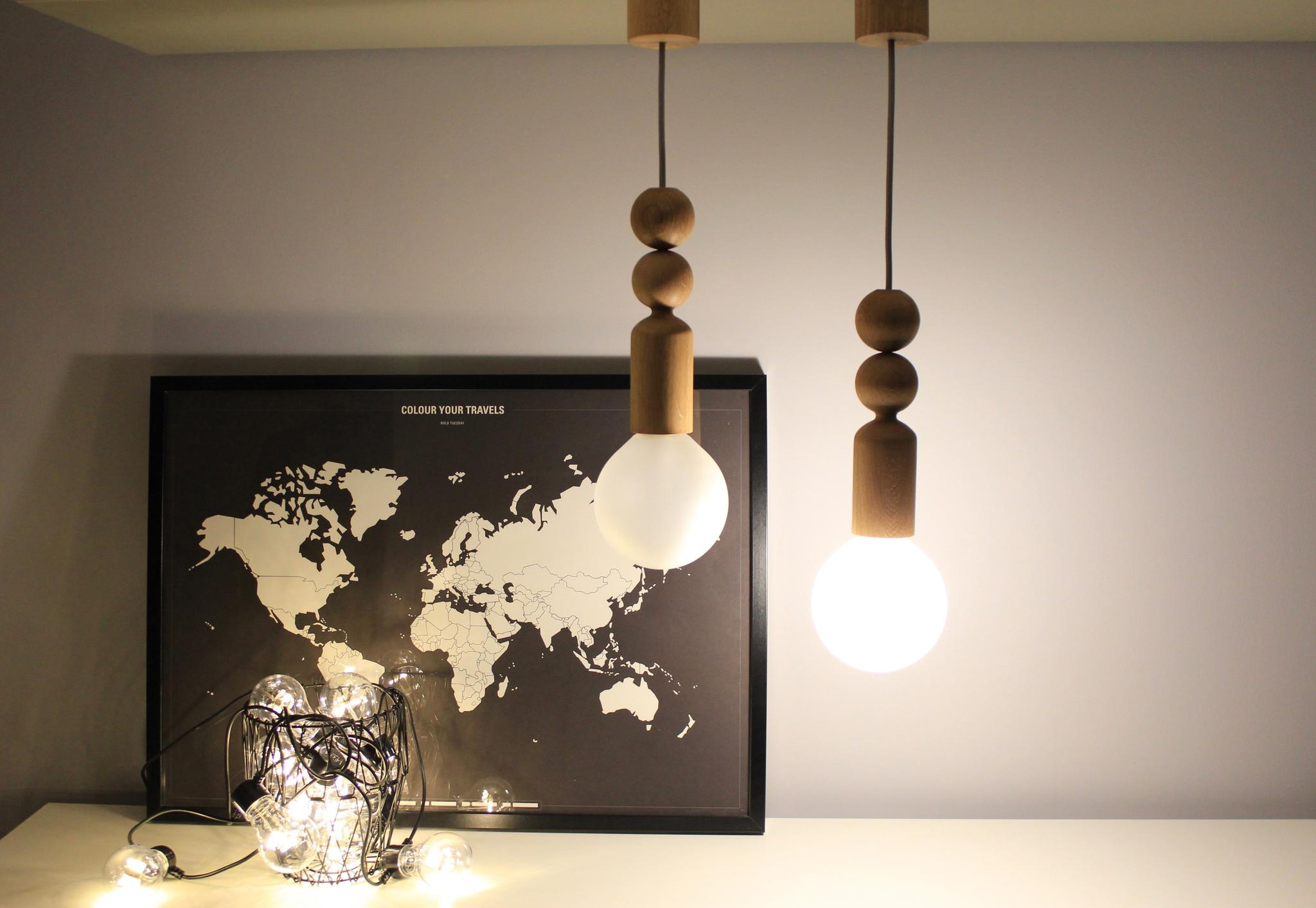 Pendant Or Table Lamp Klaara And Noora Pulo S Like To Hang Lie Down On The Desk In Both Cases They Act As Local Lightings