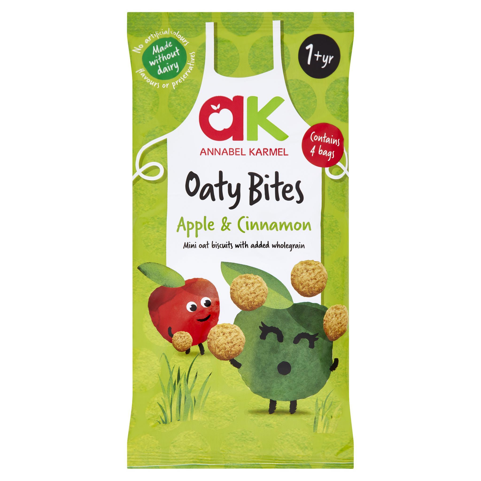 Õuna ja kaneelimaitselised teravilja ampsud. Peale 12. elukuud (4x20g)