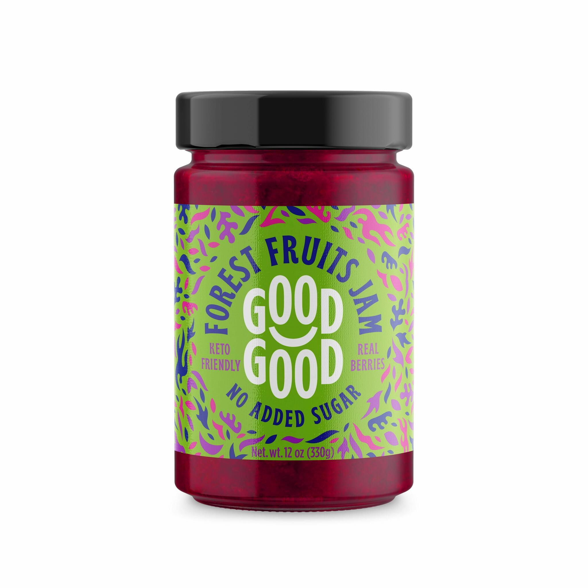 Good Good metsamarjamoos steviaga 330g (6)