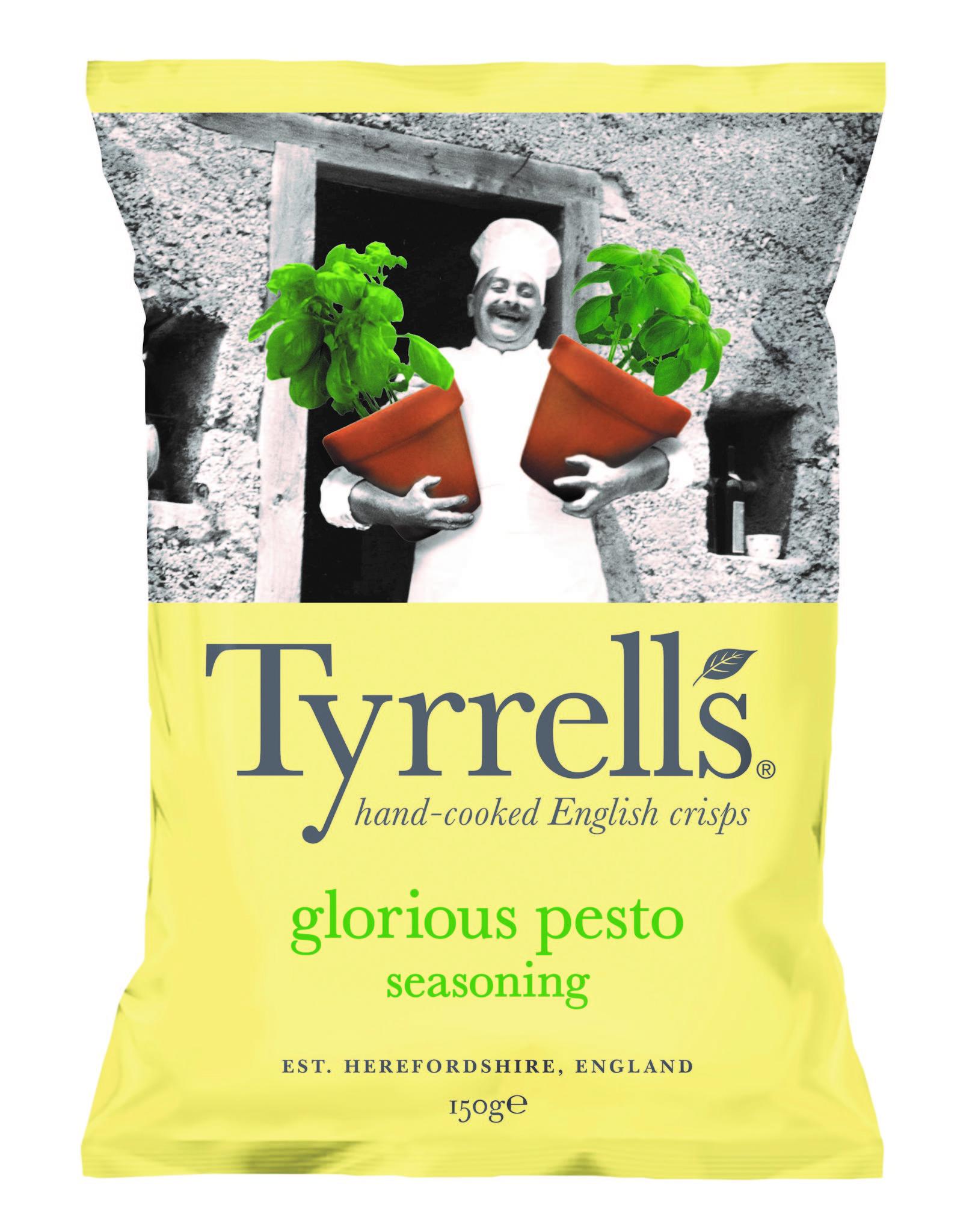 Tyrrell's kartulikrõpsud pesto ja parmesaniga 150g