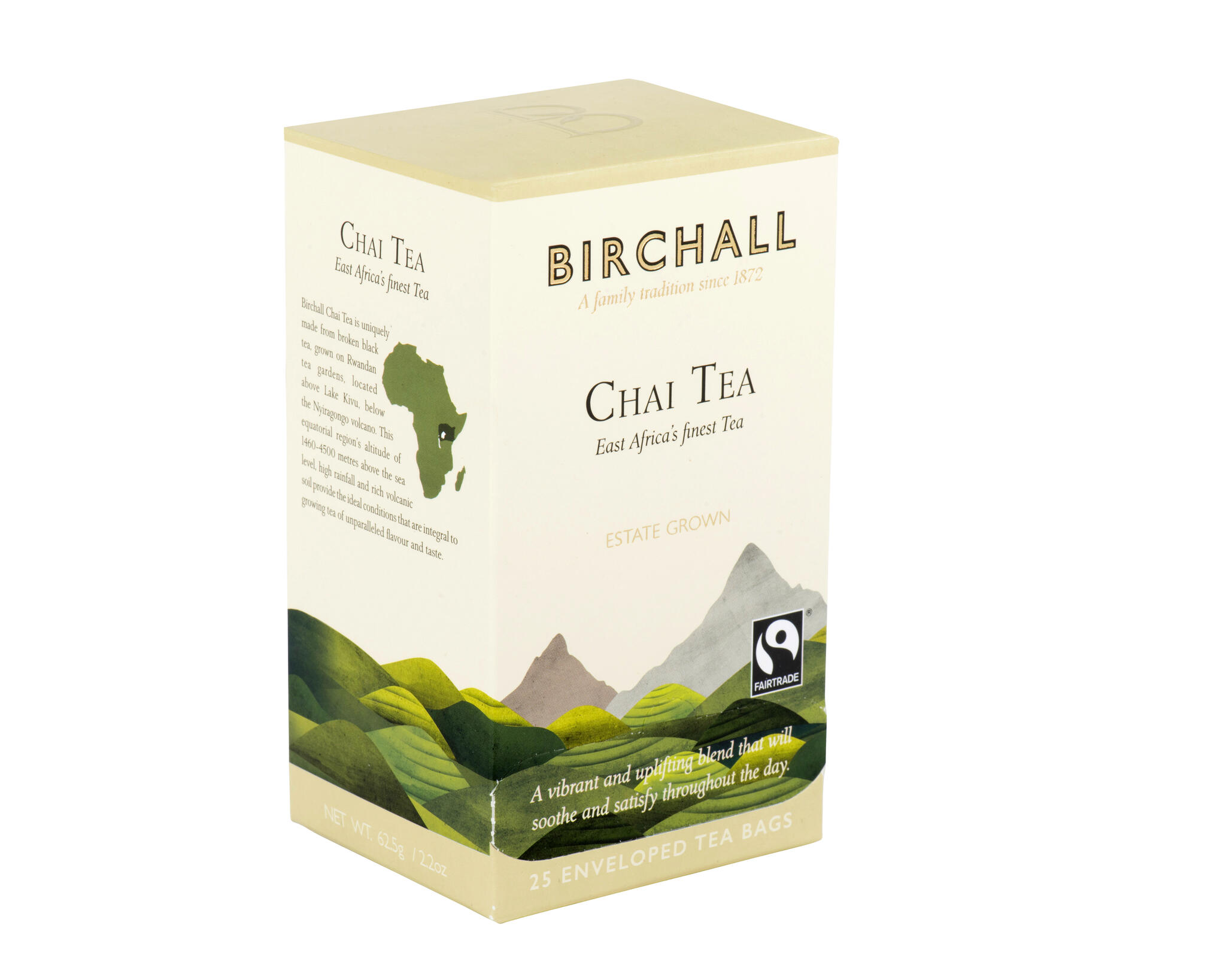 "Tee Masala chai ""Chai Tea"" 25pk. Särav ja vürtsikas."
