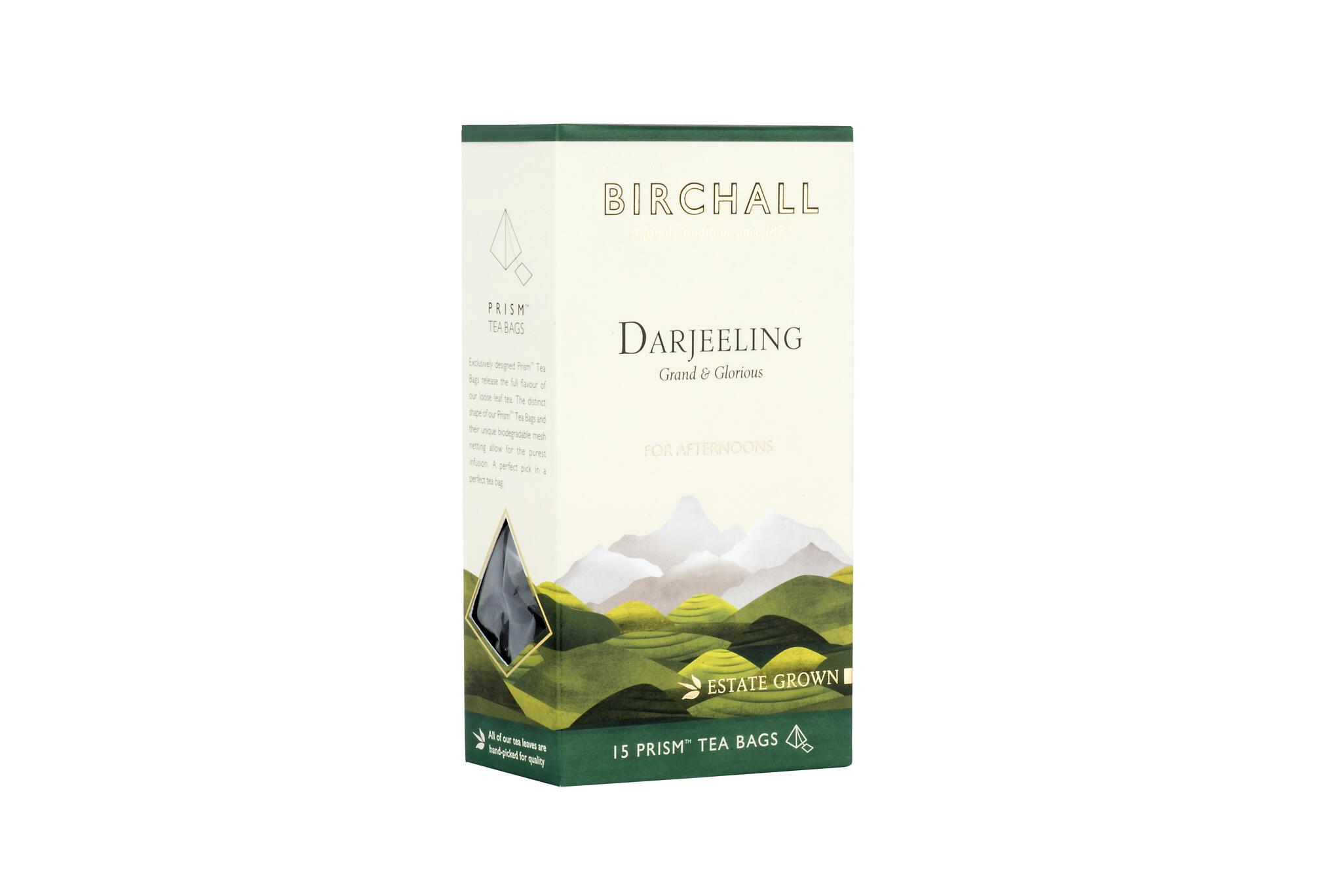 "Tee Darjeeling ""Afternoon"" 37,5g (15pk x 2,5g püramiidpakid)"