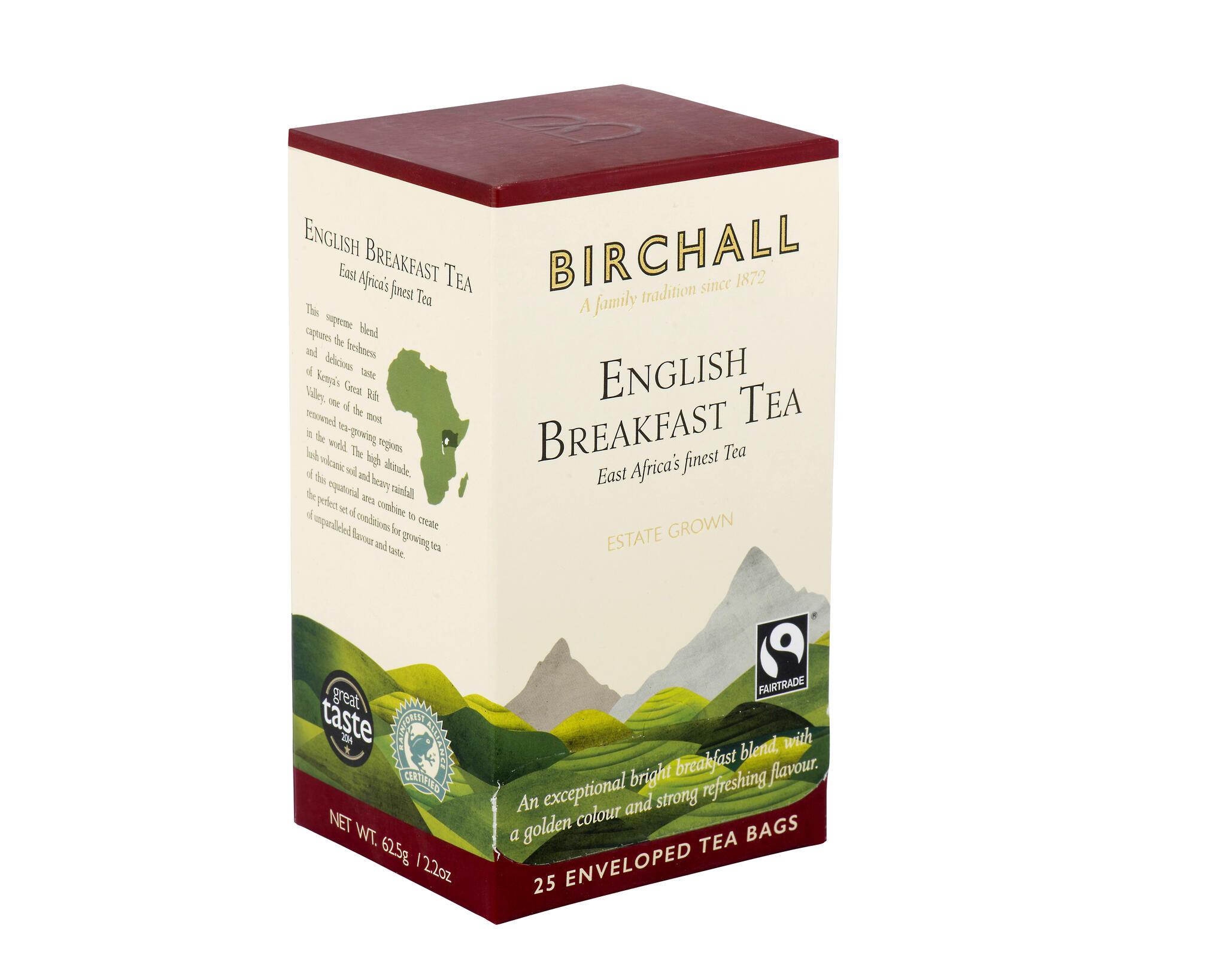 """Tee """"English Breakfast Tea"""" 25pk. Särav ja hiilgav."""