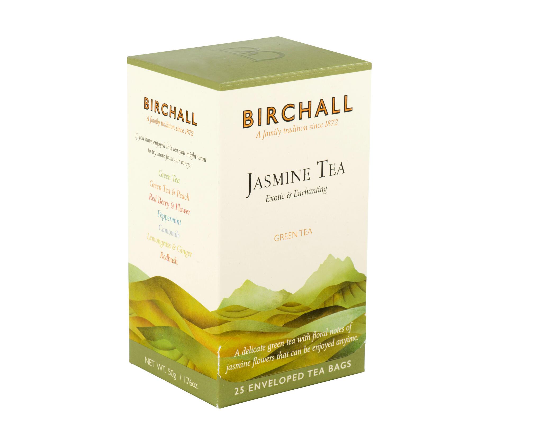 """Roheline tee """"Jasmine Tea"""" 25pk. Eksootiline ja lummav."""