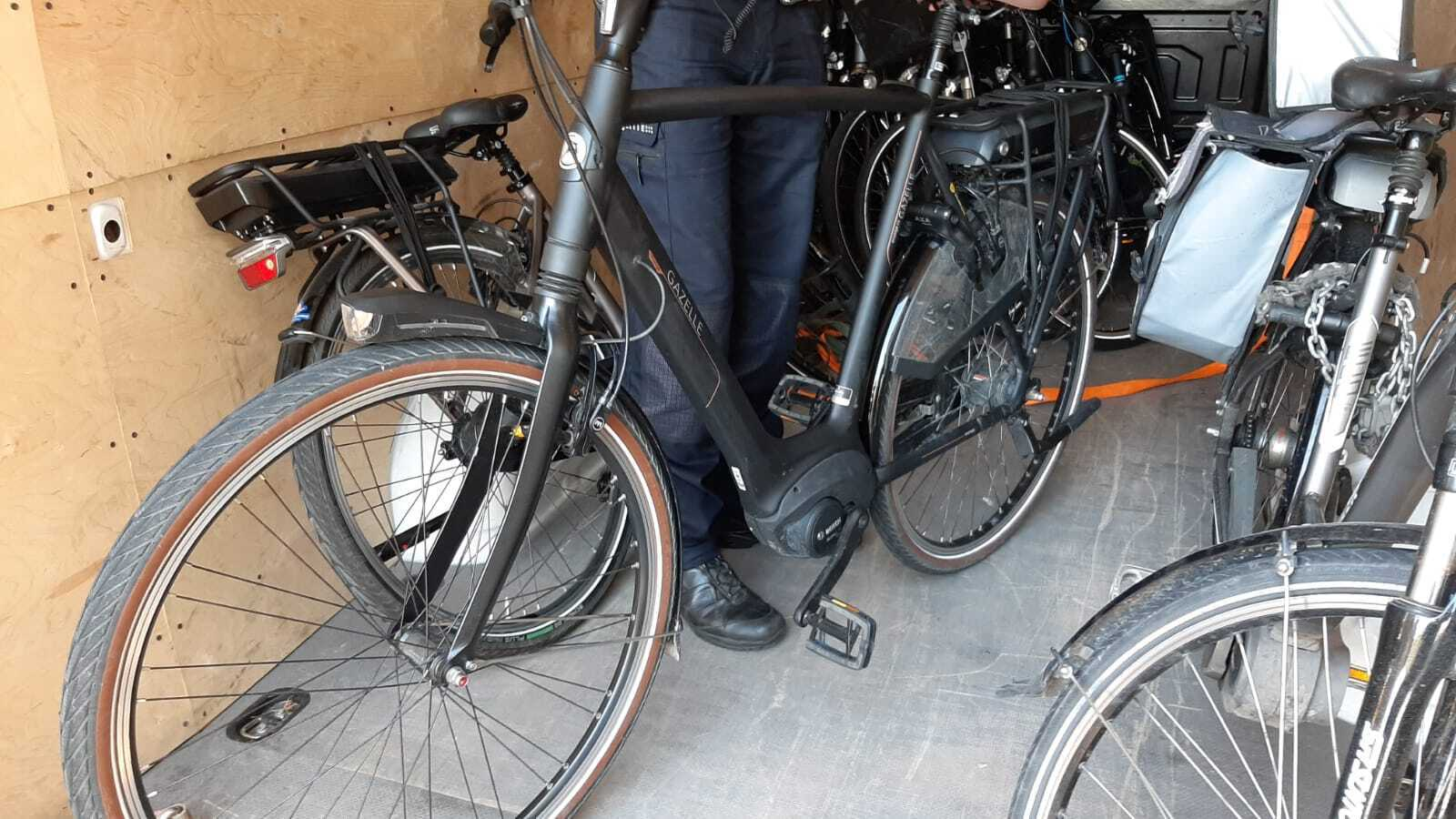 Stolen bicycles' recovery rate >100%
